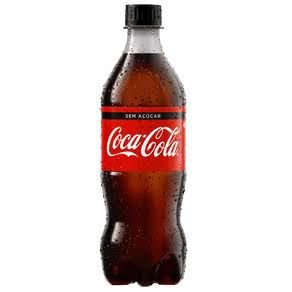 Coca Cola Zero Pet 600ml.