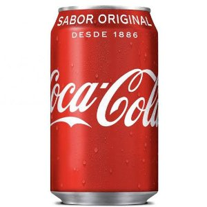 Coca Cola Lata 350ml.
