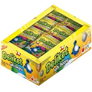 Deliket Jelly Beans 30 x 20gr.