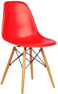 Cadeira Charles Eames New Wood Design