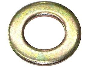 Arruela Lisa 10.6x20x2.0 mm -Bicromatizada - 000125010517 - Diversos