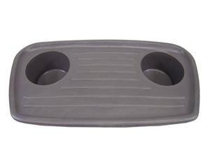 Porta Copos(Cinza Flanel) - 2Rd805111 - BRC