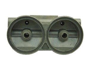 Cabeçote/Filtro Diesel Duplo 1/2 Litro - 3430927001- Mercedes