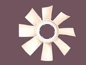 Hélice Refrigeração 8 Pás de Nylon (165 mm x 220 mm) Sem Visco Scania 124 Série 4 - 1354980 - Modefer