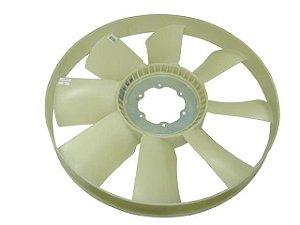 Hélice Refrigeração de Plástica 8 Pás sem Visco Com Anel Mercedes L1620/L1622EL/2423/2428/OM906A/1632/2625 - 9062050406