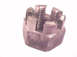 Porca Cast Alta-18X1,5 com Coroa/Rosca Fina - 000935018001 -  Diversos
