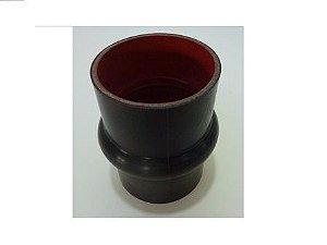 Mangueira Intercooler Vermelha/Preto Silicone 75X75X  - TODOS ACIMA DE 12T EXCETO 13150 -VOLKSWAGEN -  TQG117231