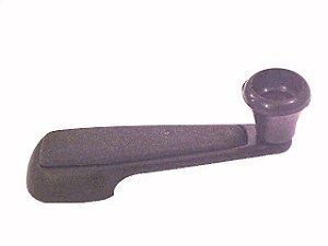 Manivela do Vidro da Porta Antiga/Preta  - Mercedes MBB TODOS - 3447600002