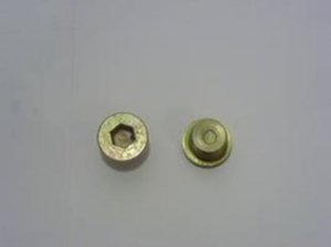 Bujão Carter S/Ima-26mm-Sexterno Int.Hallen  - Mercedes OM352/355/366/1618/1218/2318/2014/2214/1 - 4039970230