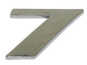 Emblema Número 7 Cromado Mercedes AXOR / ATEGO - 9438171814
