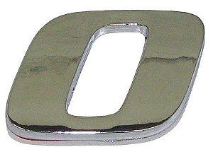 Emblema Número 0 Cromado - Mercedes-AXOR/ATEGO - 9438172014