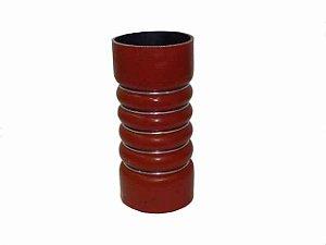 Mangueira Intercooler 86X200mm 5 Anéis Vermelha - OM457-LA 1938S - Mercedes - 0005016182