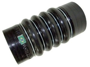 Mangueira Intercooler 85X200mm 5 Anéis Preta -OM447/INTERCOOLER -Mercedes -  0005016182
