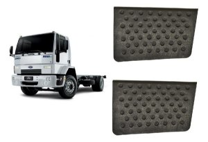 Par De Estribo Menor Ford Cargo Apos 2000  - 1c4516490bb