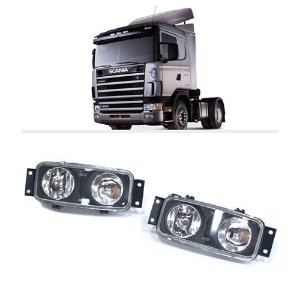 Par Farol Milha Neblina Scania Serie 4 P94 124 114  (Par)