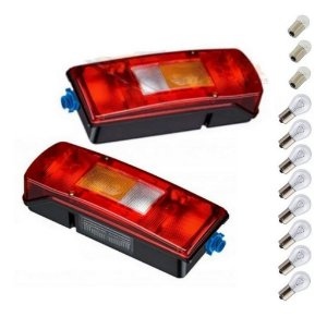 Par Lanterna Traseira Volvo Fh Nh Fm Vm C / Lâmpadas Brinde