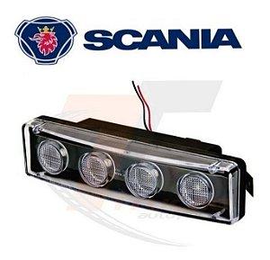 Kit Lanterna Traseira + Sinaleira Led Tapa Sol Scanias S4 S5