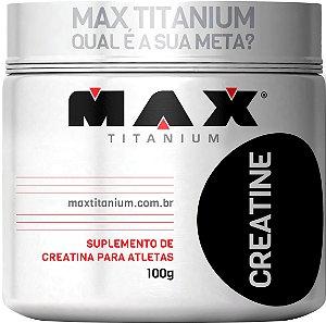 CREATINA MAX TITANIUM 100G