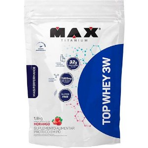 TOP WHEY 3W + PERFORMANCE REFIL 1800KG