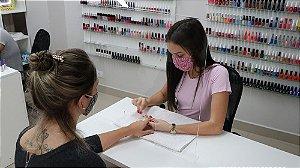Barreira de Proteção em Acrílico para Manicure