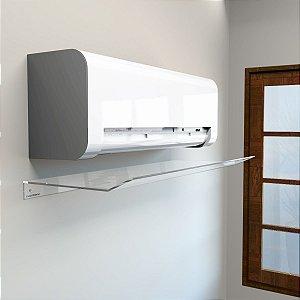 Defletor em Acrílico para Ar Condicionado Split 100x36,5cm