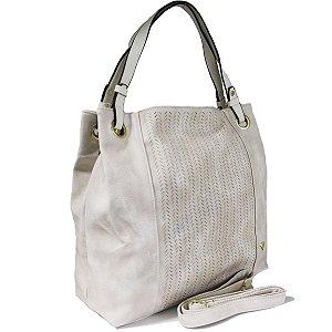 Bolsa Feminina Tipo Saco Branco