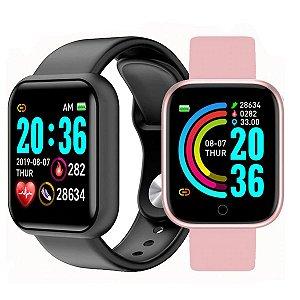Relógio Smartwatch Inteligente D20 Bluetooth 4.0