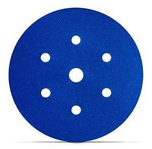 Pacote com 100 Discos Abrasivo 3M™ Hookit™ Blue 321U – 7 Furos - HB004516918
