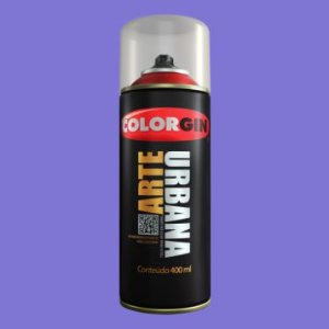 Tinta Spray COLORGIN ARTE URBANA LILAS 400ML