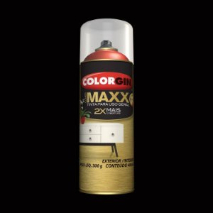 Tinta Spray COLORGIN COVER MAXX BLACK POWER 400ML - 10010
