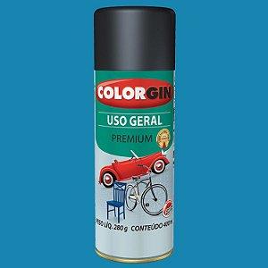 Tinta Spray Uso Geral Azul Médio 400ml COLORGIN