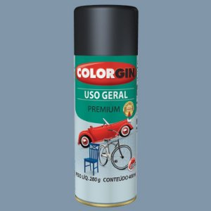 Tinta Spray COLORGIN Uso Geral Cinza Placa 400ML -  55041