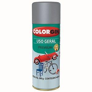 Tinta Spray COLORGIN Uso Geral Primer Rápido Cinza 400ML