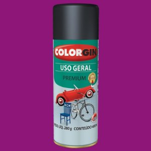 Tinta Spray COLORGIN Uso Geral Roxo Dakar 400ML -  56011