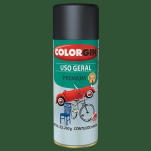 Tinta Spray COLORGIN Uso Geral Verde 400ML -  55091