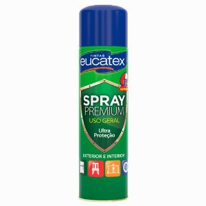 Spray Eucatex Multiuso Branco Brilho 400ML - 7710001.71