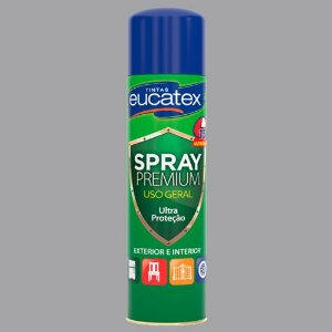 Spray Eucatex Multiuso Cinza Claro Brilho 400ML - 7710042.71