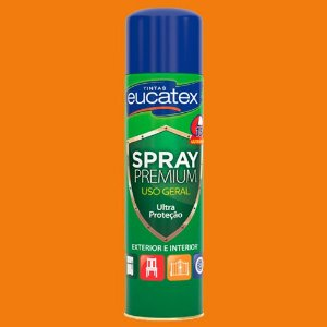 Spray Eucatex Multiuso Laranja Brilho 400ML - 7710018.71