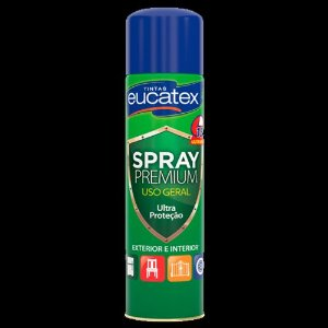 Spray Multiuso Preto Brilho 400ML Eucatex