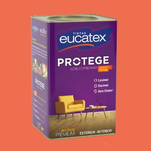Tinta Acrílica Premium Terracota 18LT Eucatex