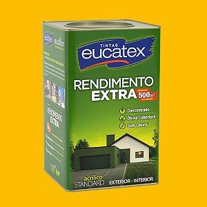 Tinta Acrílica Rendimento Extra Amarelo Ouro 18LT Eucatex