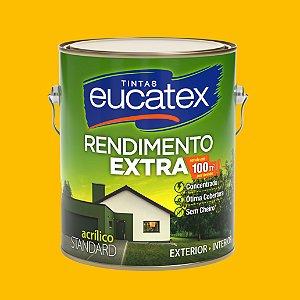 Tinta Acrílica Rendimento Extra Amarelo Ouro 3.6LT Eucatex