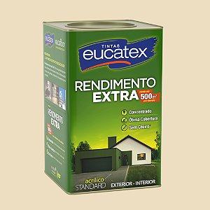 Tinta Acrílica Rendimento Extra Areia 18LT Eucatex