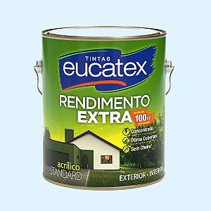 Tinta Acrílica Rendimento Extra Azul Praia 3.6LT Eucatex
