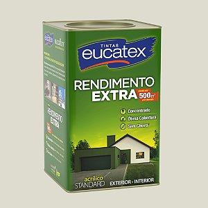 Tinta Acrílica Rendimento Extra Bianco Sereno 18LT Eucatex