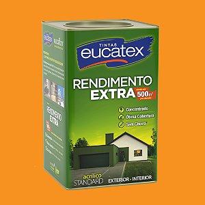 Tinta Acrílica Rendimento Extra Cenoura 18LT Eucatex