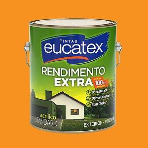 Tinta Acrílica Rendimento Extra Cenoura 3.6LT Eucatex