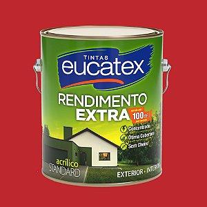 Tinta Acrílica Rendimento Extra Cereja 3.6LT Eucatex