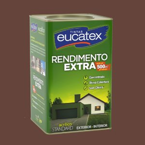 Tinta Acrílica Rendimento Extra Chocolate 18LT Eucatex
