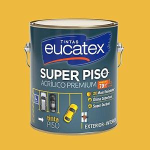 Tinta Acrílica Piso Amarelo Demarcação 3.6LT Eucatex